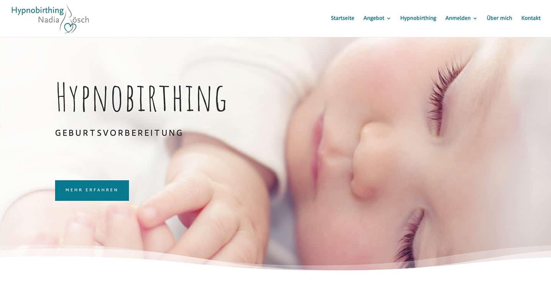 cp-webdesign Referenz hypnobirthingkurs.ch