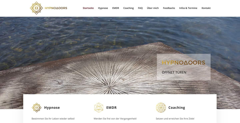 cp-webdesign Referenz hypnodoors.com